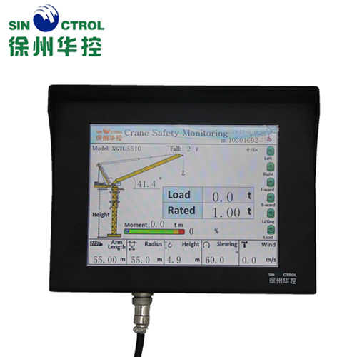 Load Moment Indicator for Luffing Tower Crane